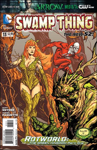 Swamp Thing (2011) 13-A by DC