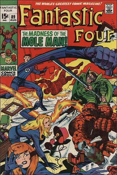 Fantastic Four (1961) 89-A by Marvel