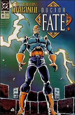 Doctor Fate (1988) 36-A by DC