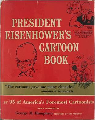 President Eisenhower's Cartoon Book 1-A by Frederick Fell