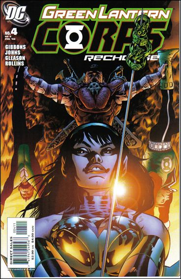Green Lantern Corps: Recharge 4-A by DC