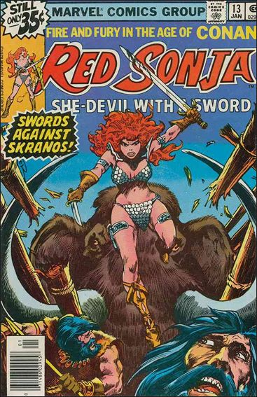 Red Sonja (1977) 13-A by Marvel