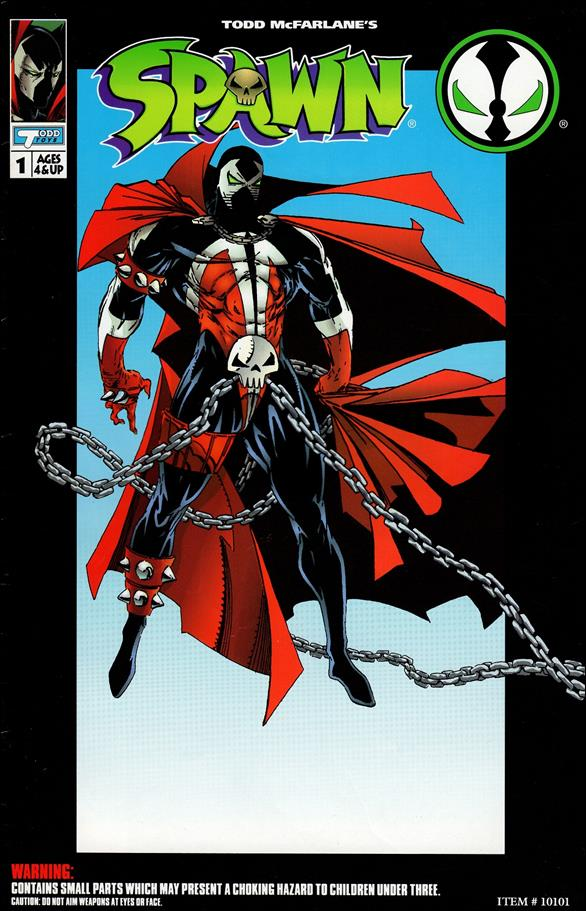 Spawn Action Figure Comic Spawn 1-A by Todd Toys