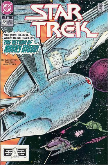 Star Trek (1989) 22-A by DC
