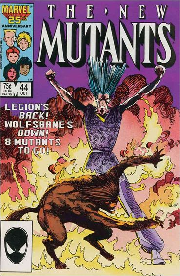 New Mutants (1983) 44-A by Marvel