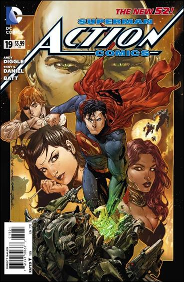 Action Comics (2011) 19-D by DC