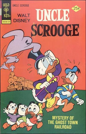 Walt Disney Uncle Scrooge 122-A by Gemstone