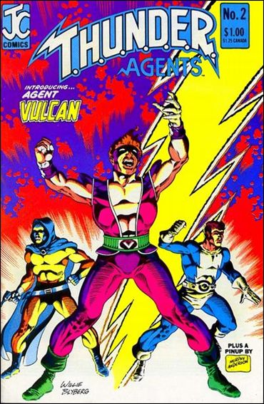 T.H.U.N.D.E.R. Agents (1983) 2-A by JC Comics