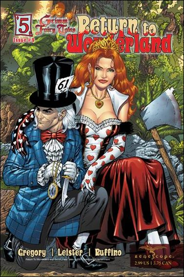 Grimm Fairy Tales: Return to Wonderland 5-A by Zenescope Entertainment