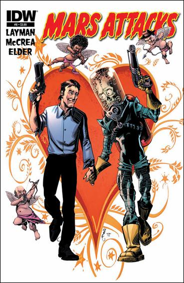 Mars Attacks (2012) 8-B by IDW