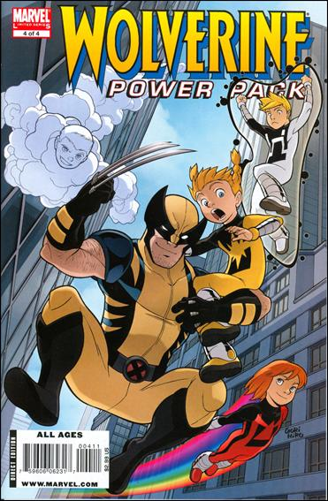 Wolverine and Power Pack 4-A by Marvel