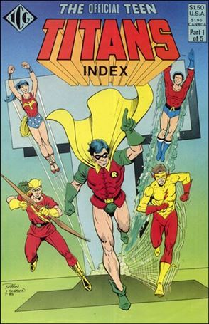 Official Teen Titans Index 1-A