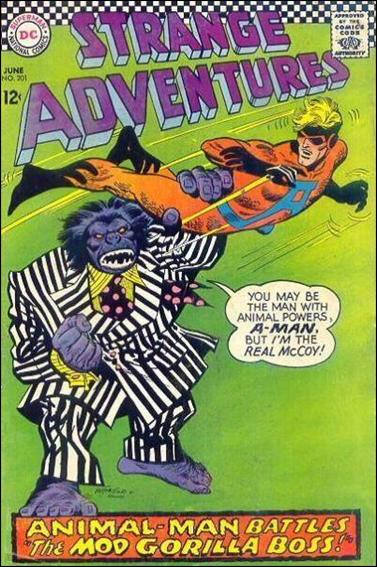 Strange Adventures (1950) 201-A by DC