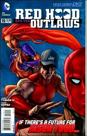 Red Hood and the Outlaws  19-A by DC