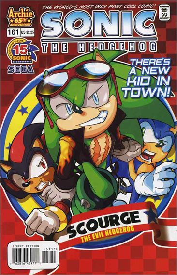 Sonic the Hedgehog (1993) 161-A by Archie