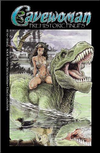 Cavewoman: Prehistoric Pinups 3-B by Amryl