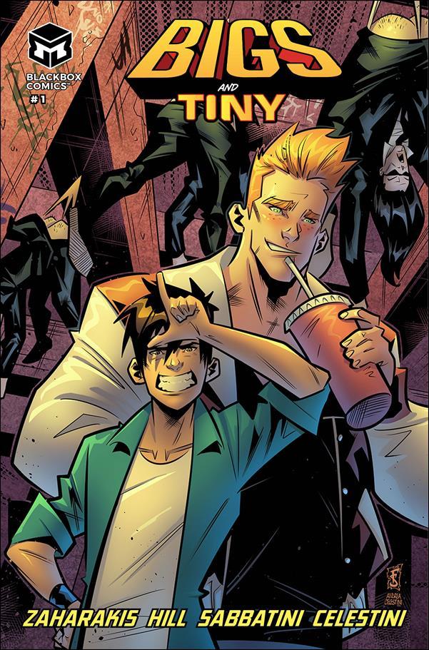 Bigs and Tiny 1-A by Blackbox Comics