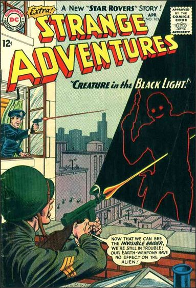Strange Adventures (1950) 163-A by DC