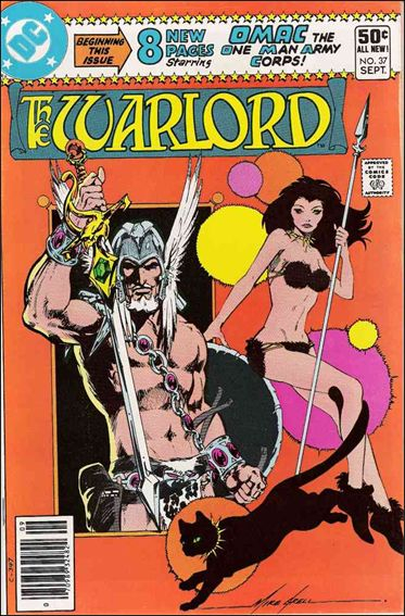 Warlord (1976) 37-A by DC
