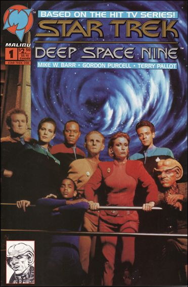 Star Trek: Deep Space Nine (1993) 1-C by Malibu