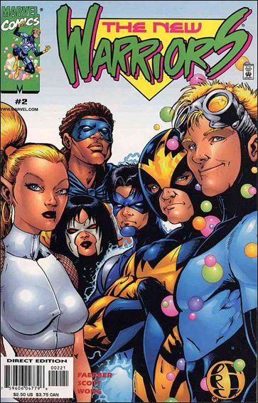 New Warriors (1999) 2-A by Marvel