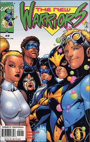 New Warriors (1999) 2-A