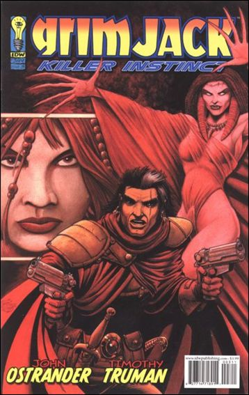 Grimjack: Killer Instinct 3-A by IDW