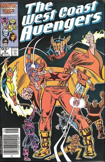 West Coast Avengers (1985) 9-B by Marvel