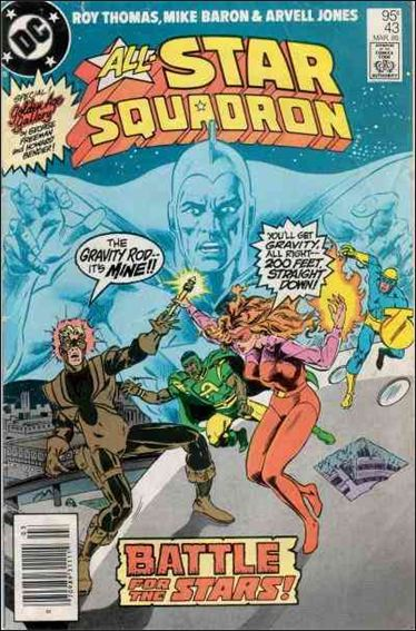 All-Star Squadron 43-A by DC