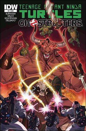 Teenage Mutant Ninja Turtles / Ghostbusters 4-A