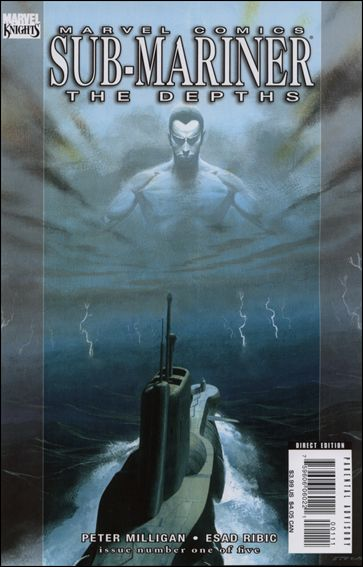 Sub-Mariner: The Depths 1-A by Marvel