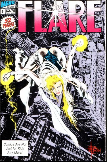 Flare (1988) 3-A by Hero Comics