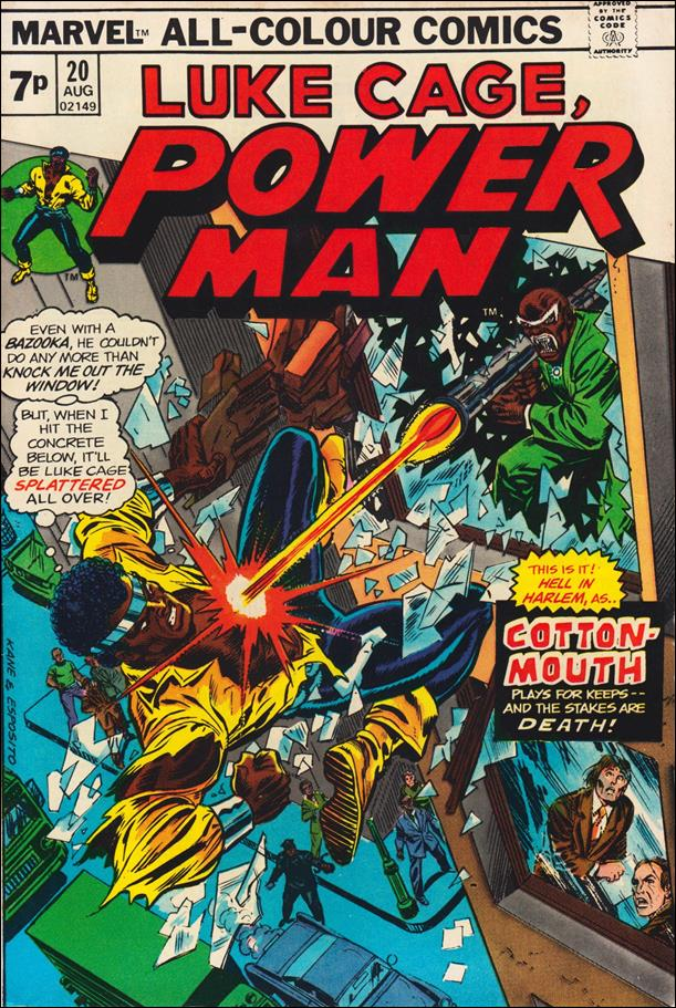 Power Man 20-B by Marvel