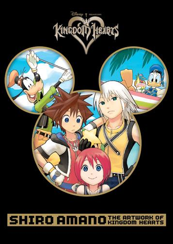 Shiro Amano: The Artwork of Kingdom Hearts nn-A by Yen Press