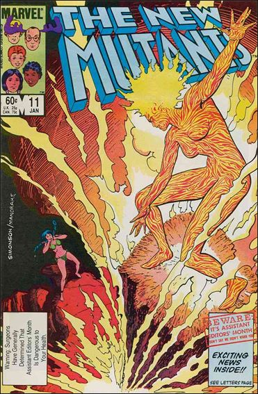 New Mutants (1983) 11-A by Marvel