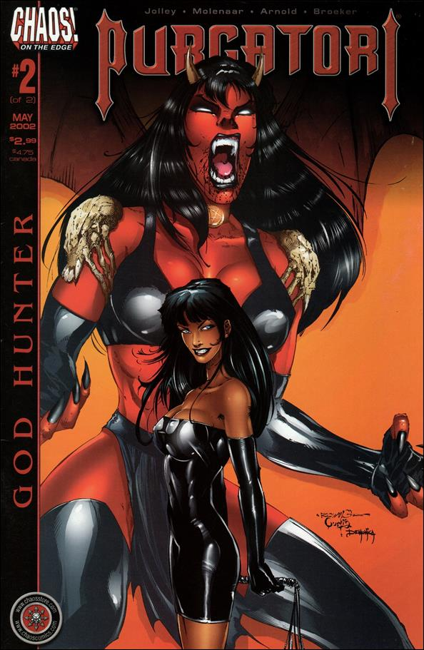 Purgatori: God Hunter 2-A by Chaos! Comics