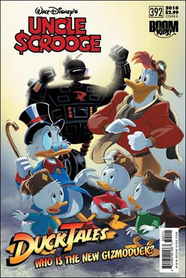Uncle Scrooge (2009) 392-B by Kaboom!