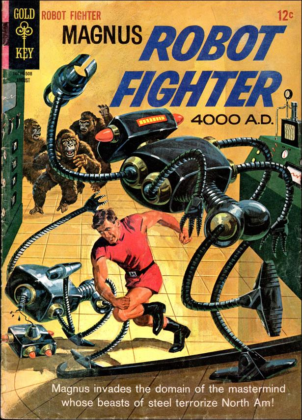 Magnus, Robot Fighter (1963) 11-A by Gold Key