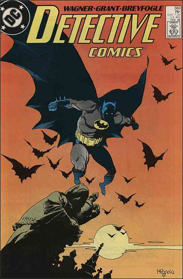 Detective Comics (1937) 583-A by DC