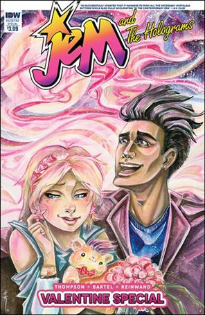 Jem and the Holograms Valentine Special nn-A