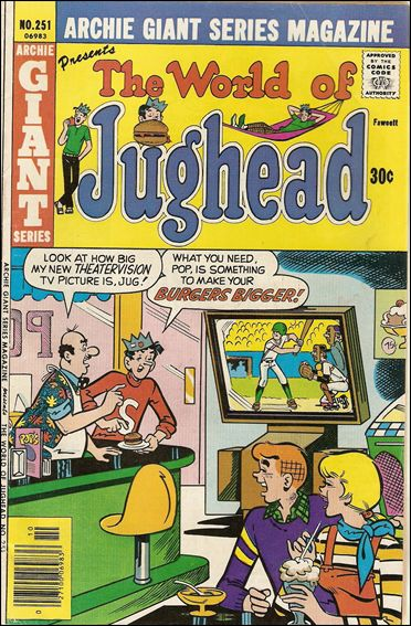 Archie Giant Series Magazine 251-A by Archie