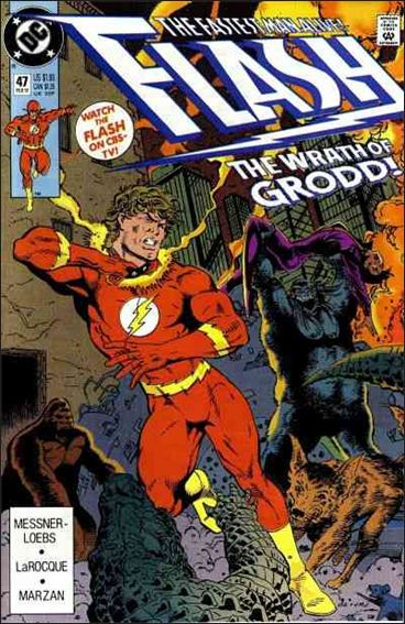 Flash (1987) 47-A by DC