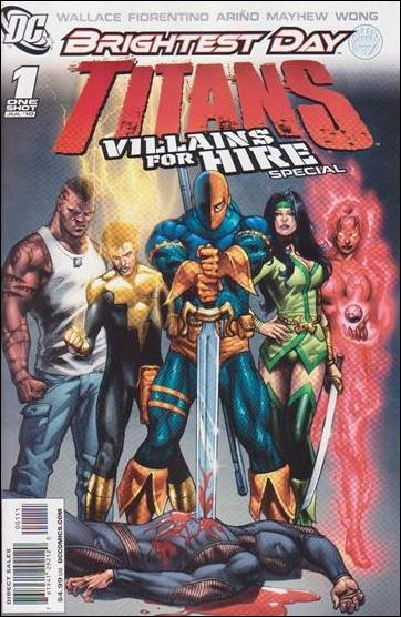 Titans: Villains for Hire Special 1-A by DC