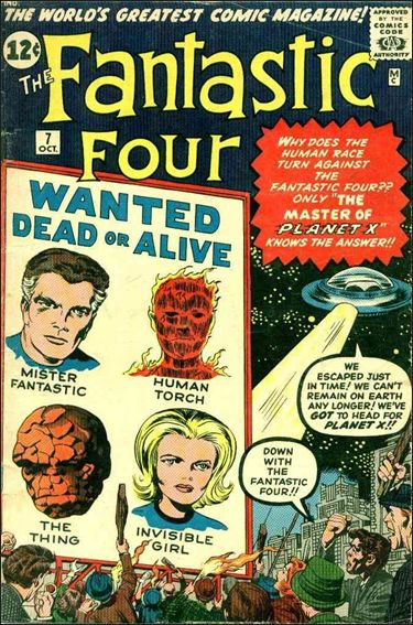 Fantastic Four (1961) 7-A by Marvel