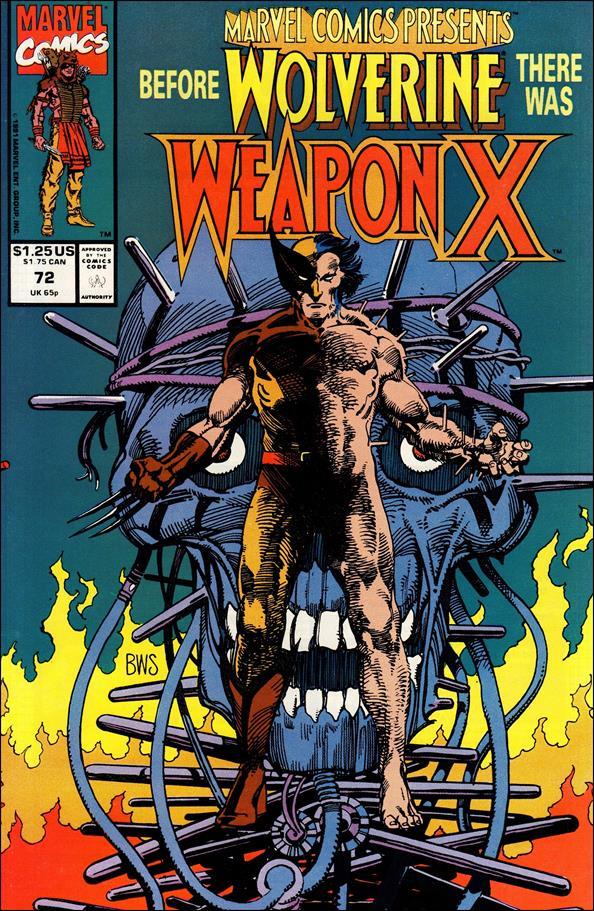 Marvel Comics Presents (1988) 72-A by Marvel