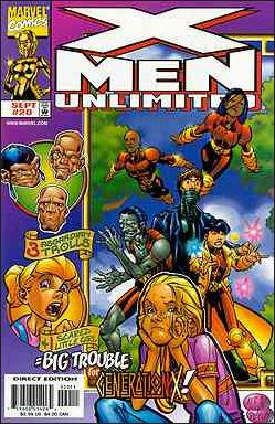 X-Men Unlimited (1993) 20-A by Marvel