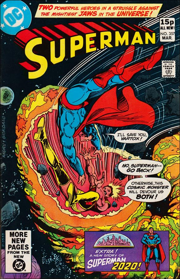 Superman (1939) 357-B by DC