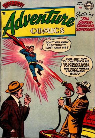 Adventure Comics (1938) 194-A by DC