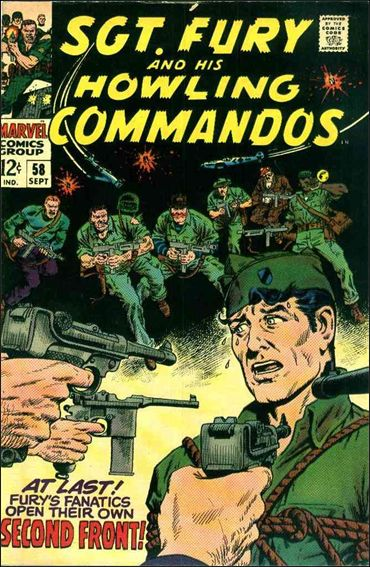 Sgt. Fury and His Howling Commandos 58-A by Marvel