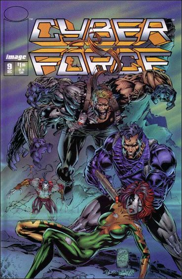 Cyberforce (1993) 9-A by Image